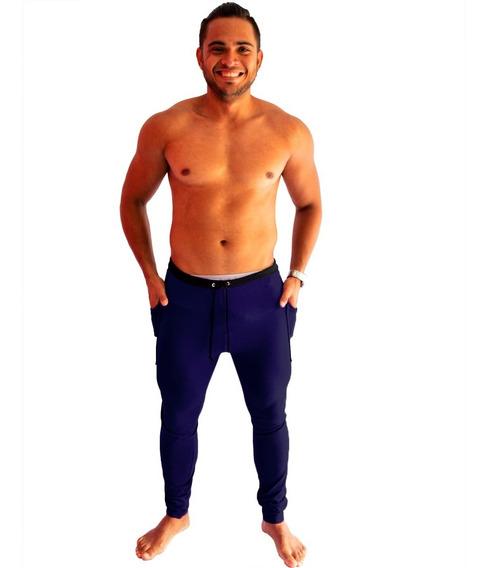 Calça De Moleton Masculina Saruel Skinny Sport Promoção Swag
