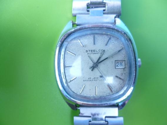 Reloj Steelco 25 Joyas. Automatico. De Los 80