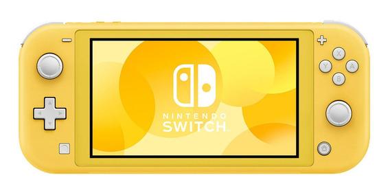 Nintendo Switch Lite Consola 32gb Amarilla Hdh-s-yazaa