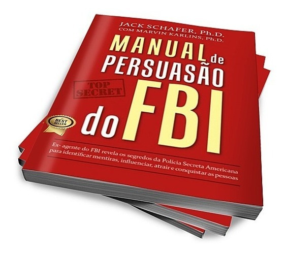 Livros Manual De Persuasão Do Fbi Investigação Frete Barato