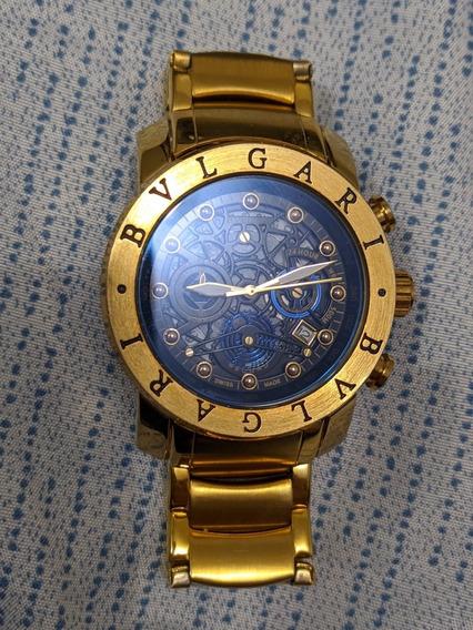 Relógio Bvlgari Dourado