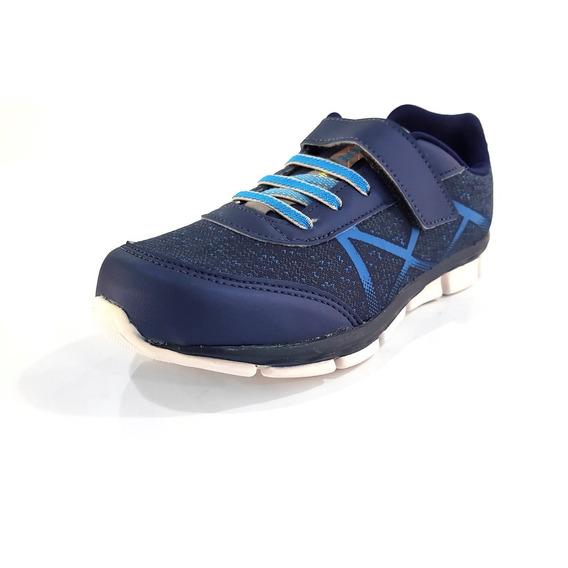 Tênis Pé Com Pé Runner Azul Marinho (441) - 71003