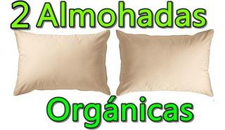 Almohada Algodon Organico Anti Alergenica Alergia Jumbo Firm