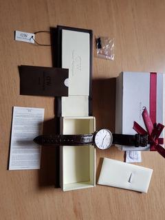 Reloj Daniel Wellington Hombre York Cuero 40mm (no Rolex, Casio)