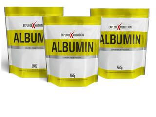03 Albumina 1500g (500g Cada)