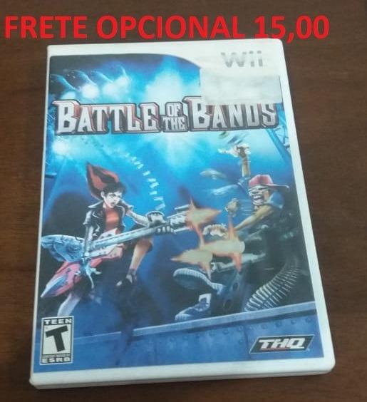 Battle Of The Bands - Wii Original - Mídia Física