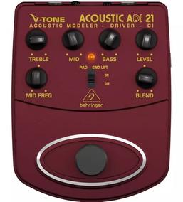 Pedal Para Violão Behringer Adi21v-tone Acustic