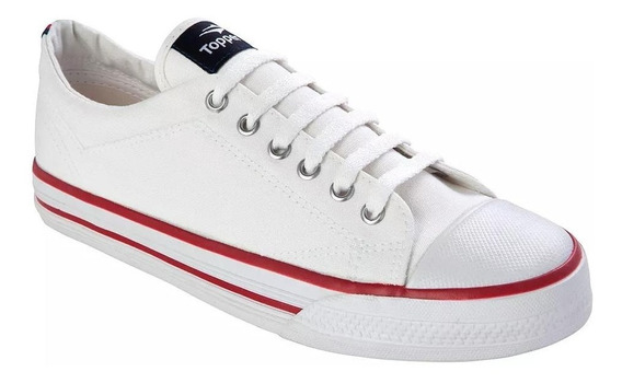 Topper Zapatilla Urbana Derby Blanco