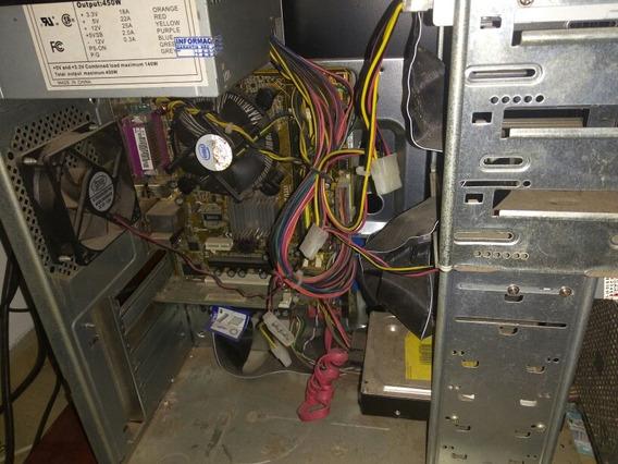 Vendo Computador Com Procesador Pentium Dual E2180 Placa Mãe
