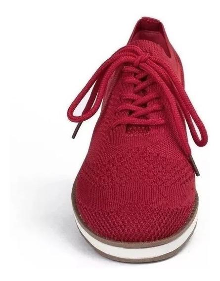 Tenis Sapato Feminino Dakota B9511 Azul/nude/vermelho