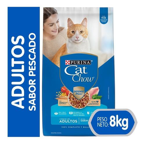 Cat Chow® Adultos  Pescado 8 Kg