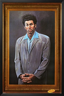 Seinfeld - Póster Enmarcado Kramer 26 X 38 In