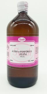 Ácido Fosfórico Fcc 85% Synth 1 Litro