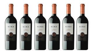 Vino Nina Gran Petit Verdot Caja X 6 X 750ml. Envío Gratis!