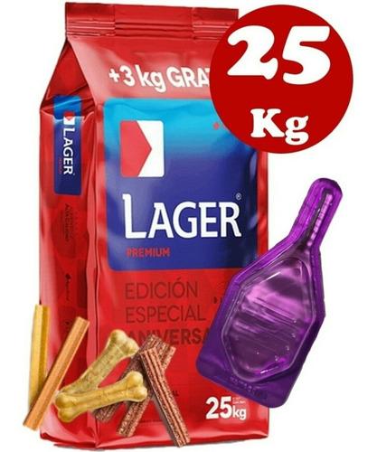 Imagen 1 de 3 de Lager Adulto 22kg +2kg + Pipeta
