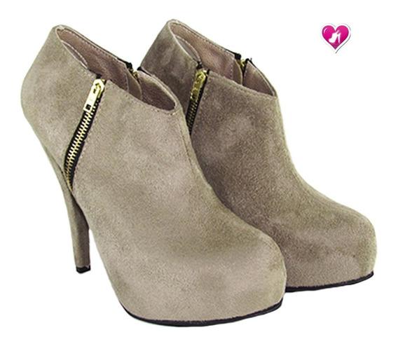 Botita Botineta Clasica Luis Xv Modelo Tanya De Shoes Bayres