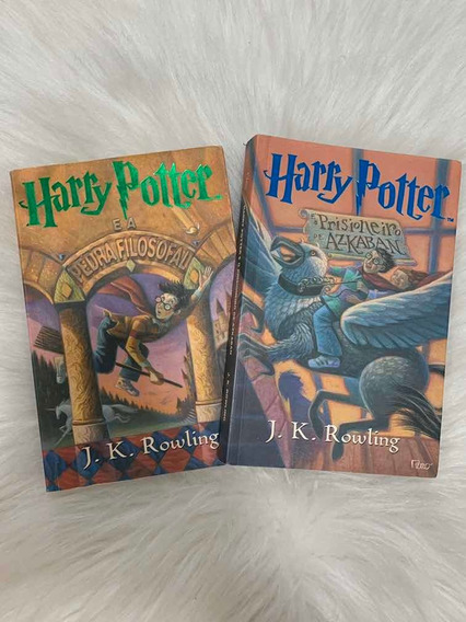 Combo Harry Potter Coleção Rowling - 2 Livros
