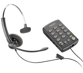 Teléfono Fijo De Diadema Practica T110 Plantronics