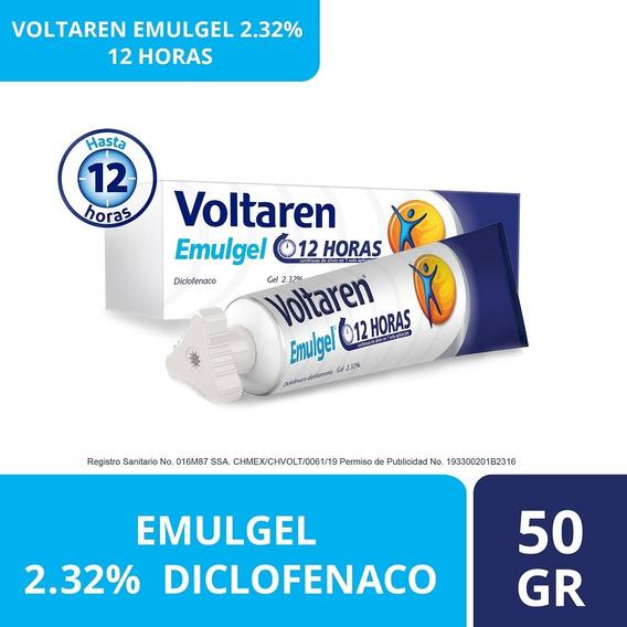 Gel Emulgel 12 Horas 50g Diclofenaco 2.32% Voltaren