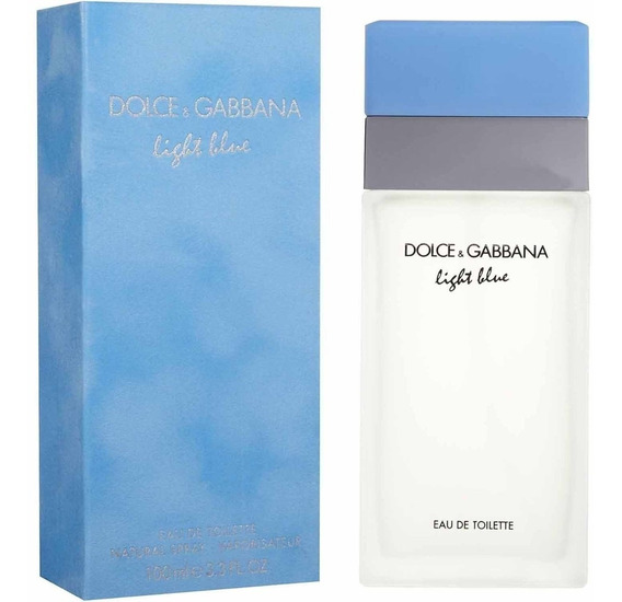 Dolce E Gabbana Light Blue Eau De Toilette Feminino 100ml
