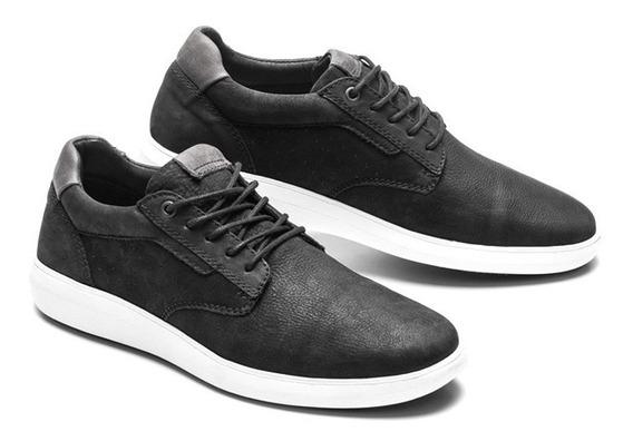 Zapatillas Hombre Cuero Marsanto Stein Negro. Store Oficial