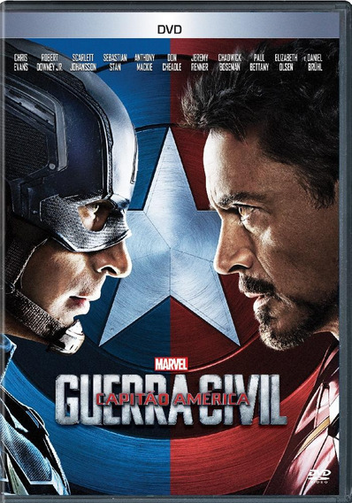 Capitão América - Guerra Civil - Dvd