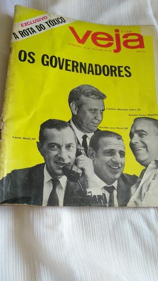 Veja Nº 86 Os Governadores 29 Abril 1970 Revista Rara