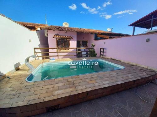 Casa À Venda, 75 M² Por R$ 300.000,00 - Itapeba - Maricá/rj - Ca4783