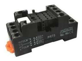 Base Prt5 14 Pinos P/ Os Reles Da Linha Tn / Tna - Metaltex