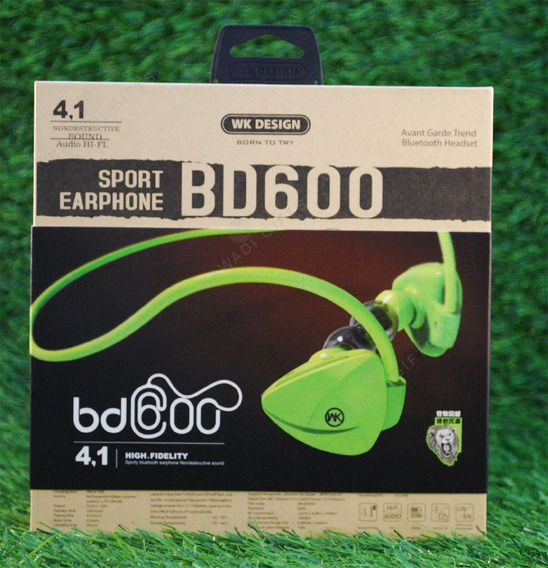 Fone Bluetooth Wk Design Bd600