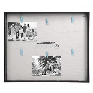 Mural De Fotos - Amor Tamanho Família