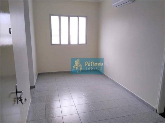 Apartamento Com 1 Dormitório À Venda, 41 M² Por R$ 160.000 - R1b46a - Boqueirão - Praia Grande/sp - Ap0479
