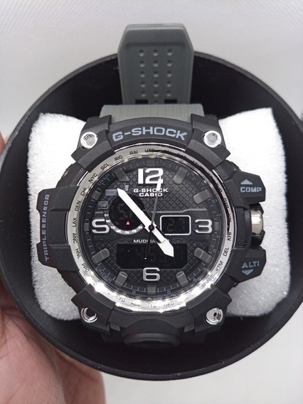 Relógio Gshock Mud Master Cinza/preto.