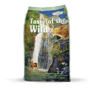 Alimento Gato Rocky Mtn Taste Of The Wild Adulto Venado 1lb