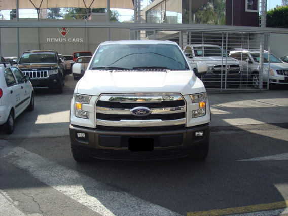 Ford Lobo 3.5 Lariat Cabina Doble 4x4 Mt 2015 Blanco