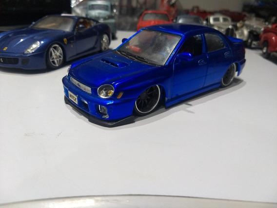 Miniatura Subaru Impreza Wrx 2002 1/24 Maisto Allstars #g9