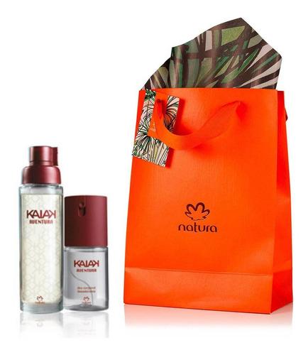 Imagen 1 de 1 de Perfume Kaiak Aventura + Spray Dama - mL a $167