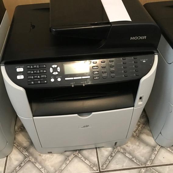 Impressora Multifuncional Ricoh Sp3510 Revisada Toner Novo