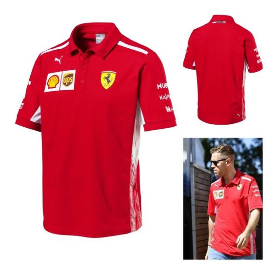 Camisa Polo Puma Ferrari Vettel Raikonen En **oferta**