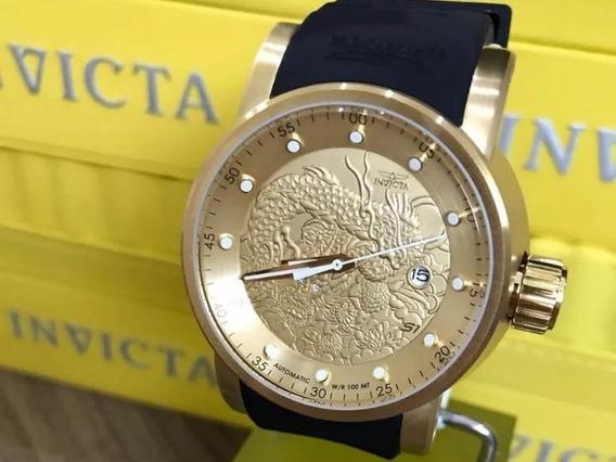 Relógio Invicta Automático Yakuza - Promoção Envio Imediato