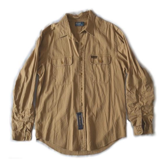 Camisa Polo By Ralph Lauren Caqui Xl Extra Grande