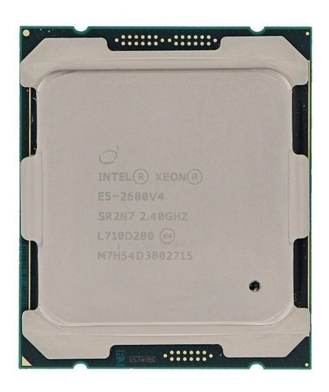 Intel Xeon E5-2680v4 14 Cores 28 Hilos 2.40ghz 9.60gt/s 35mb