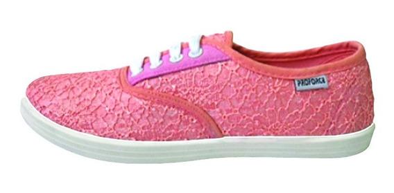 Zapatillas Bordadas Proforce Art 271 - 35al40
