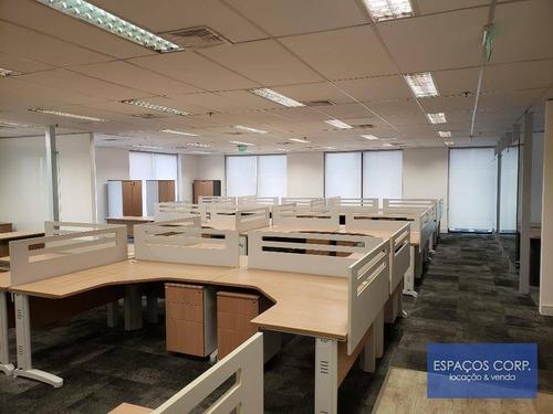 Conjunto Comercial Para Alugar, 255m² - Brooklin - São Paulo/sp - Cj2301