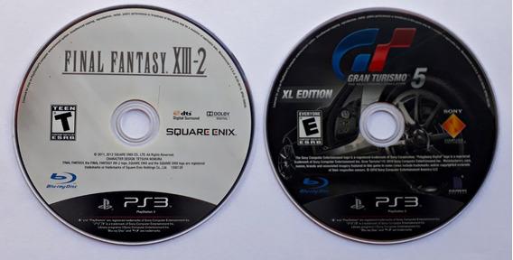 Jogos Final Fantasy Xiii-2 Gran Turismo 5 Xl Ps3 Mídia Físic