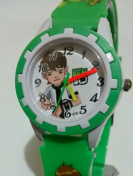 Relógio Infantil Ben 10 Bonito Moderno Top