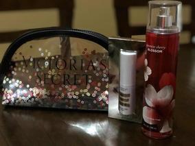 Victoria Secret Cosmetiquera E Iluminador Con Splash Bath N