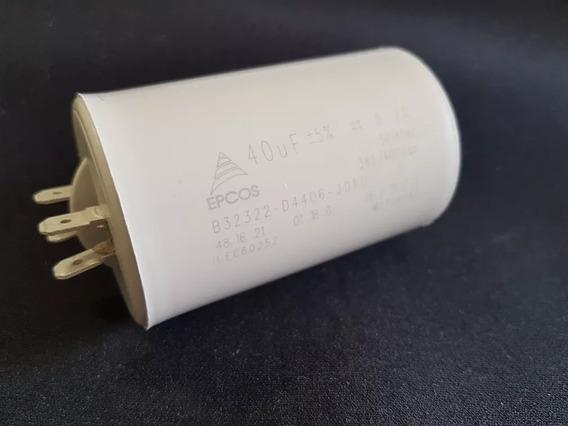 Capacitor De Partida 40uf +- 10/ 250vac B32322 - Epcos