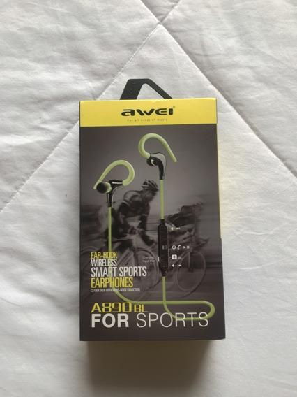 Fone De Ouvido Awei A890bl Esportes