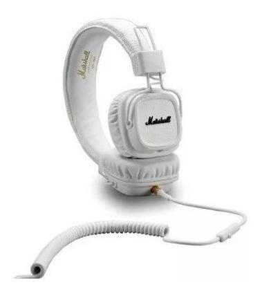 Fone De Ouvido Headphone Marshall Major Ll Ii Branco Origina